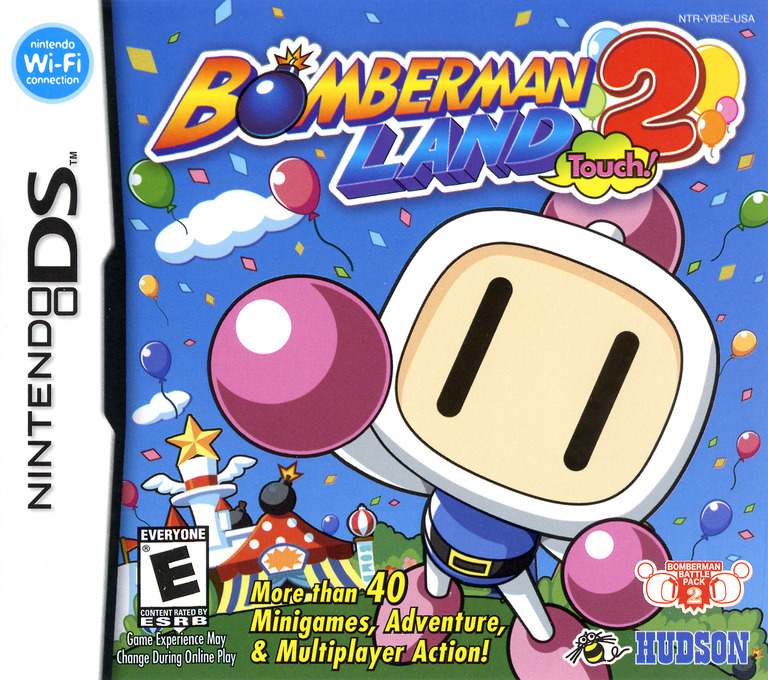 Bomberman Land Touch! 2 DS coverHQ (YB2E)