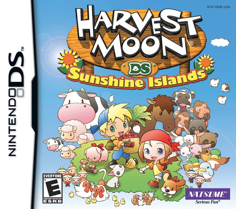 Harvest Moon DS - Sunshine Islands DS coverHQ (YB3E)