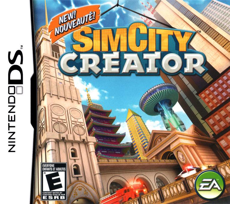 SimCity - Creator DS coverHQ (YC2E)