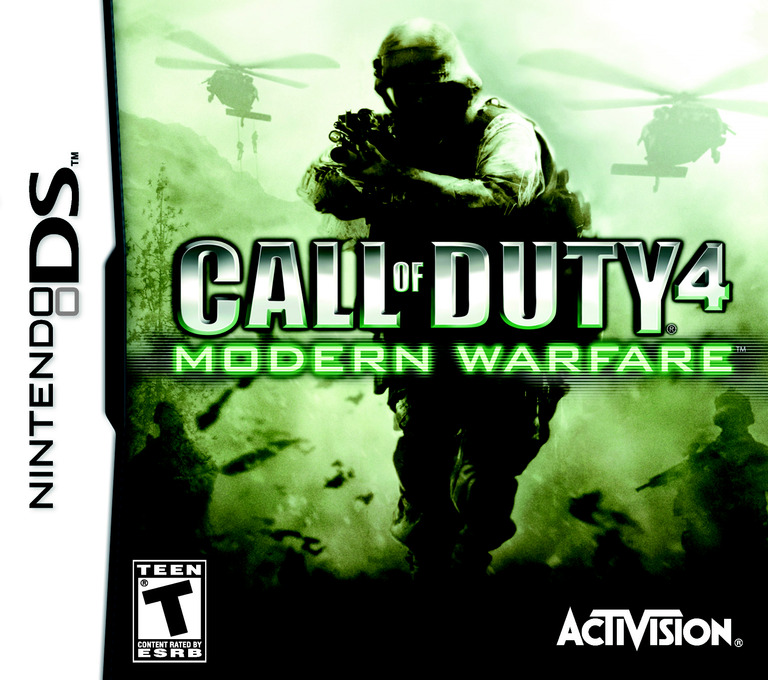 Call of Duty 4 - Modern Warfare DS coverHQ (YCOE)