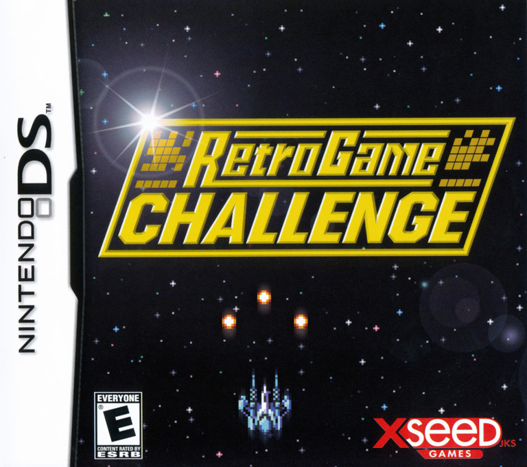 Retro Game Challenge DS coverHQ (YCXE)