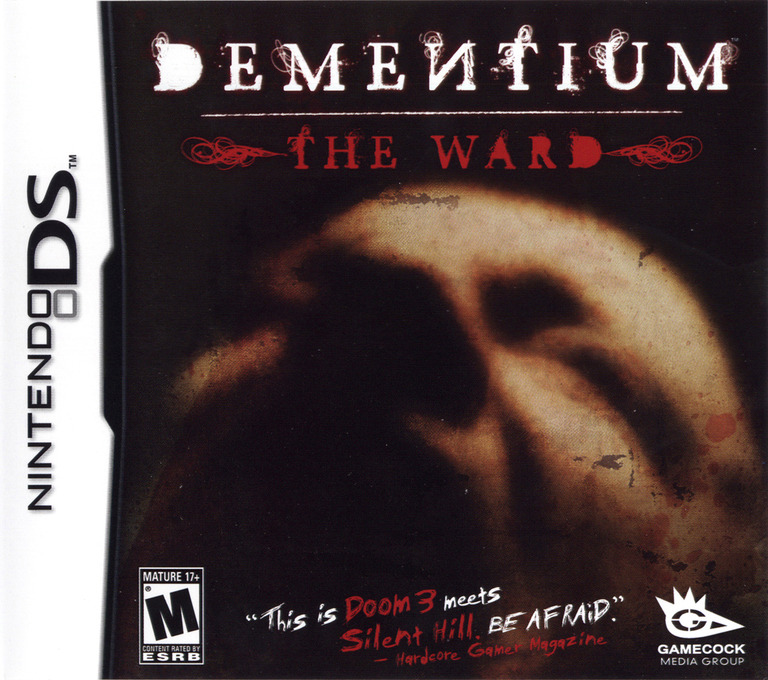 Dementium - The Ward DS coverHQ (YDTE)