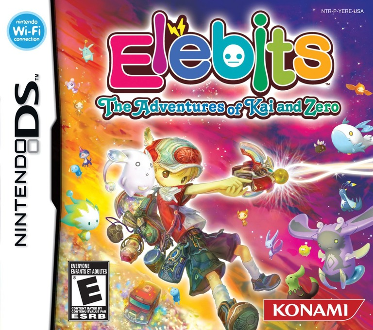 Elebits - The Adventures of Kai and Zero DS coverHQ (YERE)