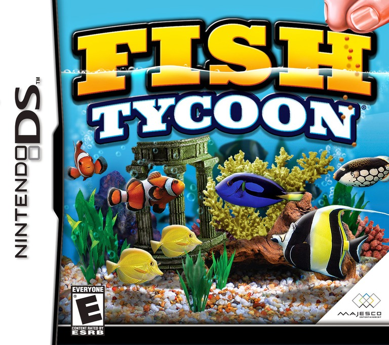 Fish Tycoon DS coverHQ (YF7E)