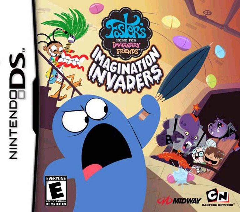 Foster's Home for Imaginary Friends - Imagination Invaders DS coverHQ (YFIE)
