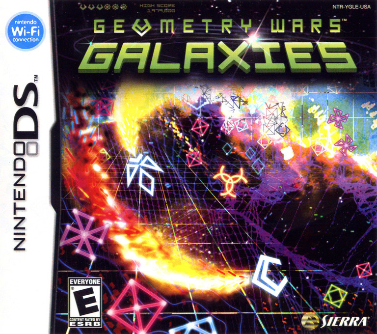 Geometry Wars - Galaxies DS coverHQ (YGLE)