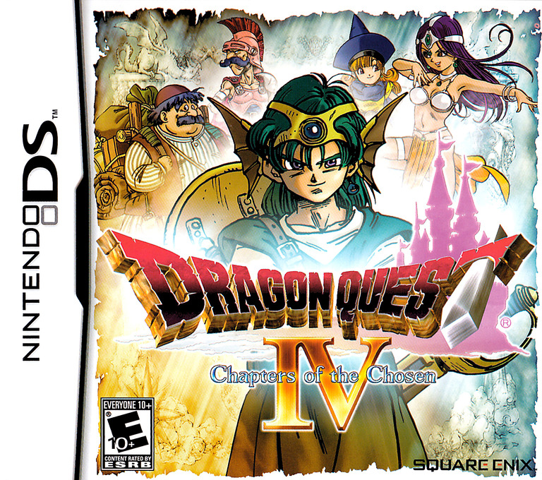 Dragon Quest IV - Chapters of the Chosen DS coverHQ (YIVE)