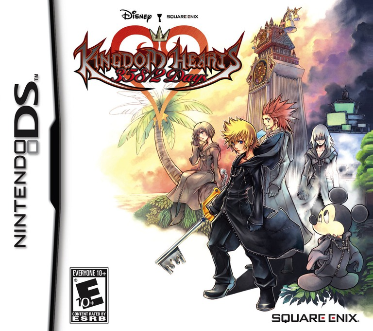 Kingdom Hearts - 358/2 Days DS coverHQ (YKGE)