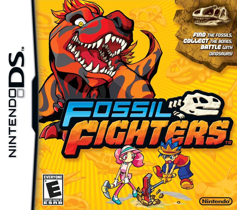 Fossil Fighters DS coverHQ (YKHE)