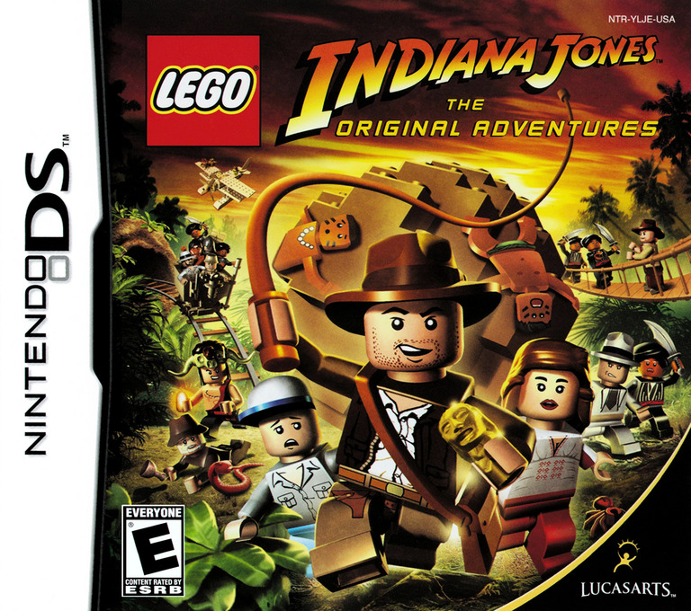 LEGO Indiana Jones - The Original Adventures DS coverHQ (YLJE)