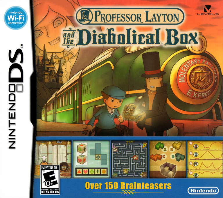 Professor Layton and the Diabolical Box DS coverHQ (YLTE)