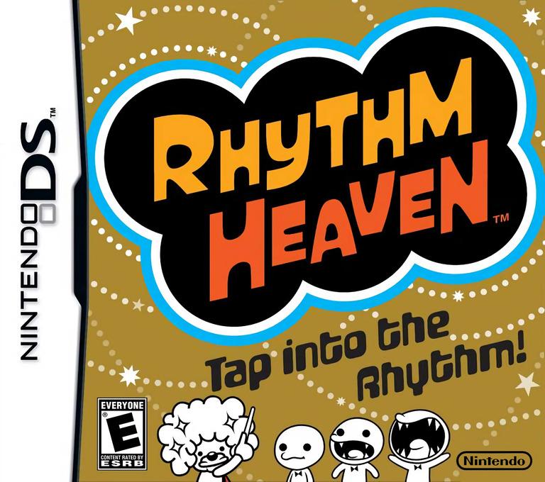Rhythm Heaven DS coverHQ (YLZE)