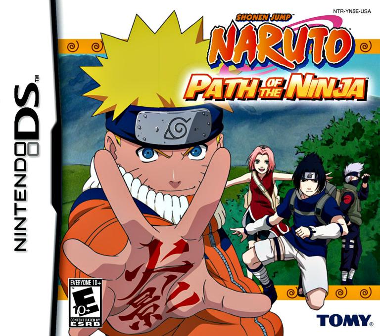 Naruto - Path of the Ninja DS coverHQ (YN5E)