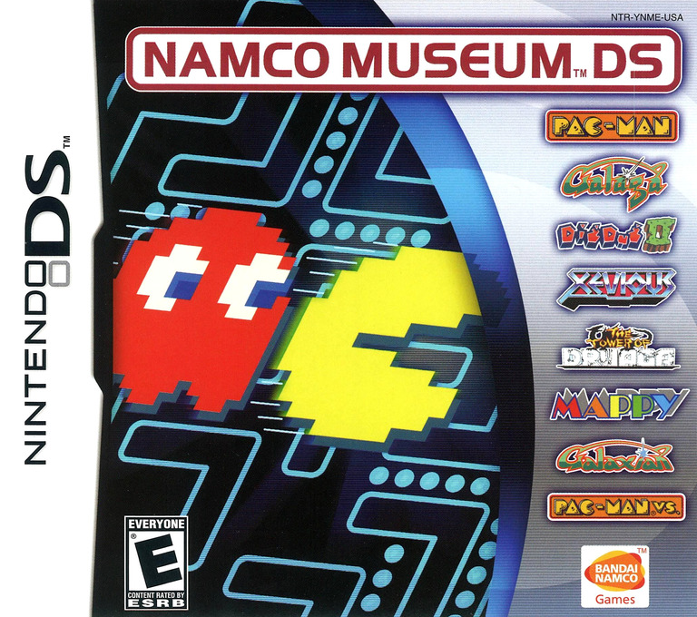 Namco Museum DS DS coverHQ (YNME)