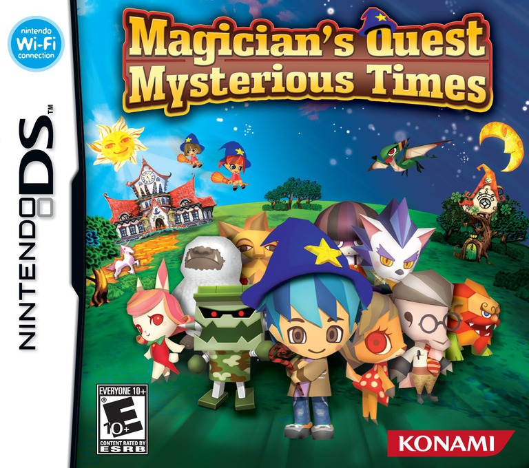 Magician's Quest - Mysterious Times DS coverHQ (YNNE)