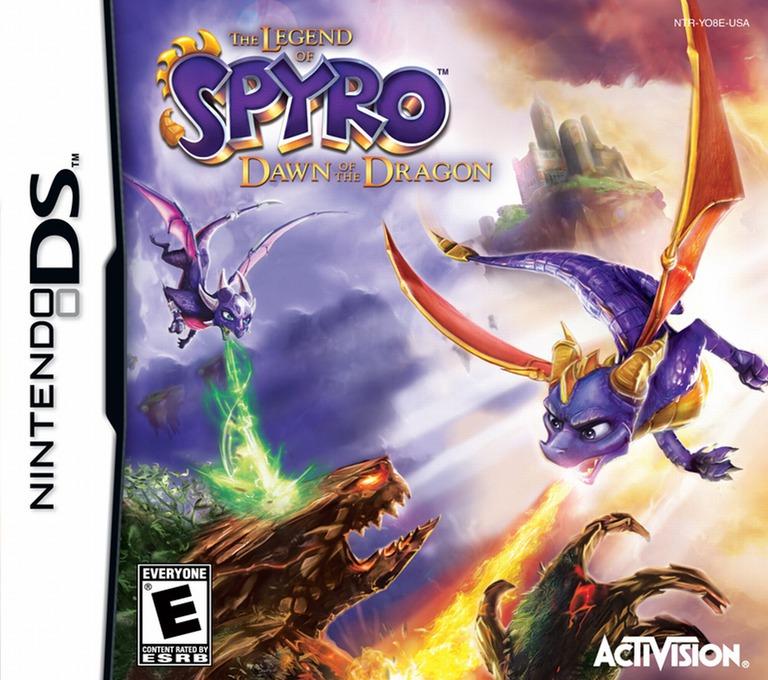 The Legend of Spyro - Dawn of the Dragon DS coverHQ (YO8E)