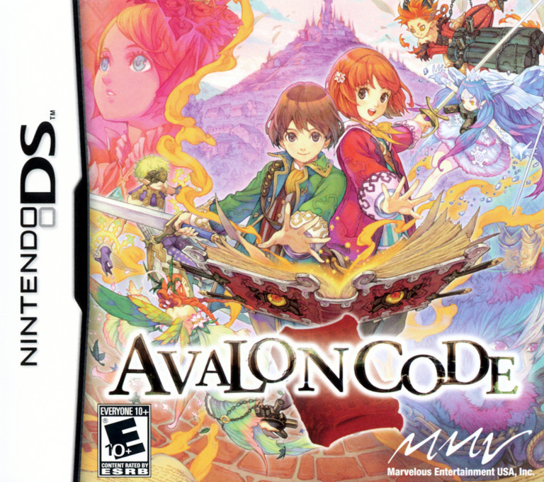 Avalon Code DS coverHQ (YOGE)