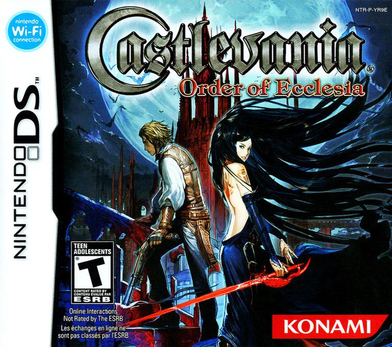Castlevania - Order of Ecclesia DS coverHQ (YR9E)