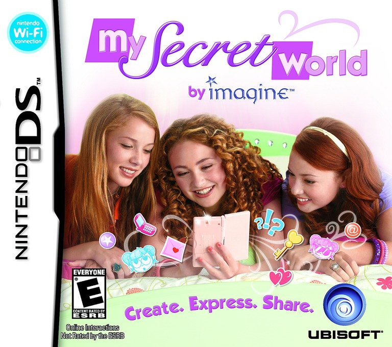 My Secret World by Imagine DS coverHQ (YRME)