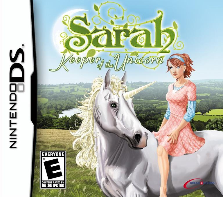 Sarah - Keeper of the Unicorn DS coverHQ (YSAE)