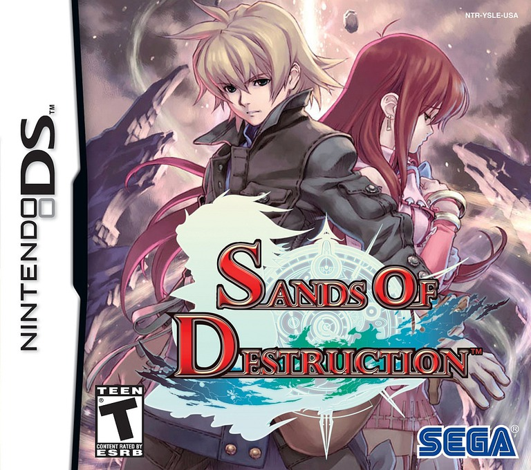 Sands of Destruction DS coverHQ (YSLE)