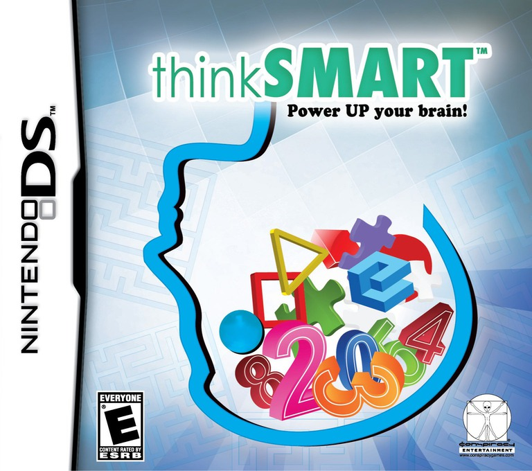 ThinkSmart - Power Up Your Brain! DS coverHQ (YTLE)