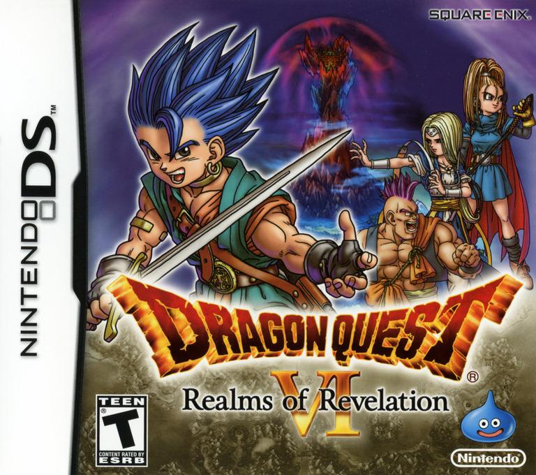 Dragon Quest VI - Realms of Revelation DS coverHQ (YVIE)