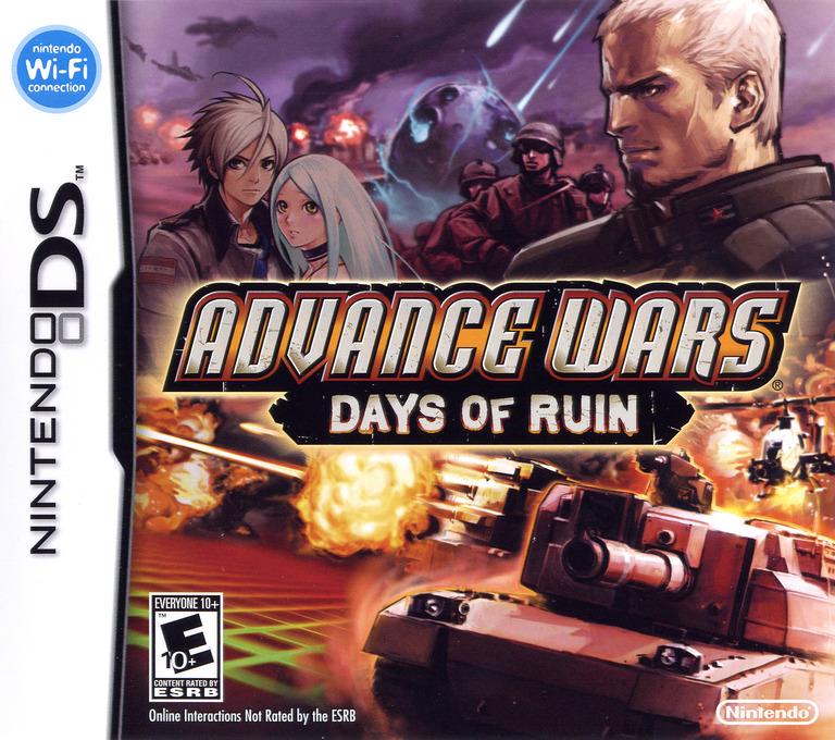 Advance Wars - Days of Ruin DS coverHQ (YW2E)