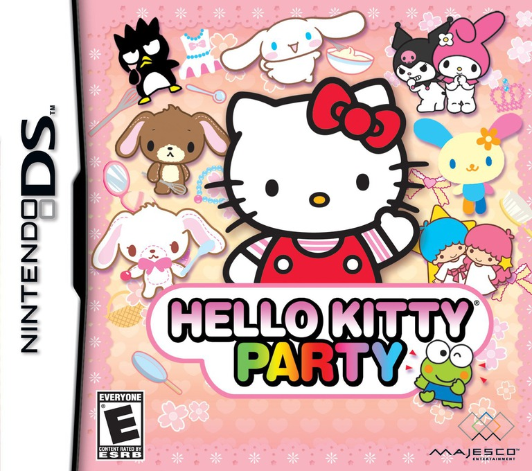 Hello Kitty - Party DS coverHQ (YW3E)