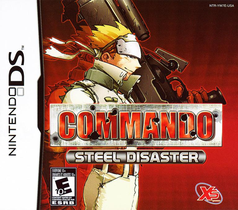 Commando - Steel Disaster DS coverHQ (YW7E)