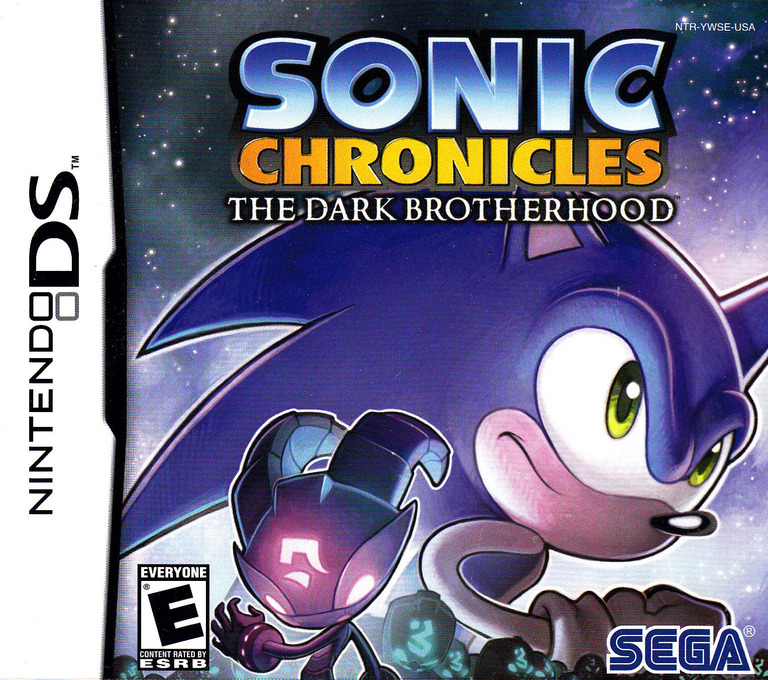 Sonic Chronicles - The Dark Brotherhood DS coverHQ (YWSE)