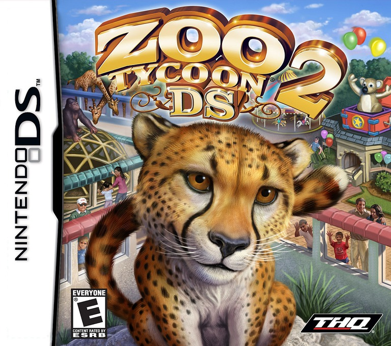 Zoo Tycoon 2 DS DS coverHQ (YZTE)