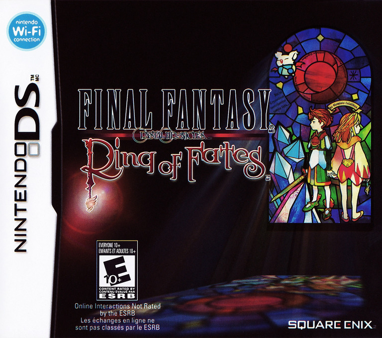 Final Fantasy Crystal Chronicles - Ring of Fates DS coverHQ (AFXE)