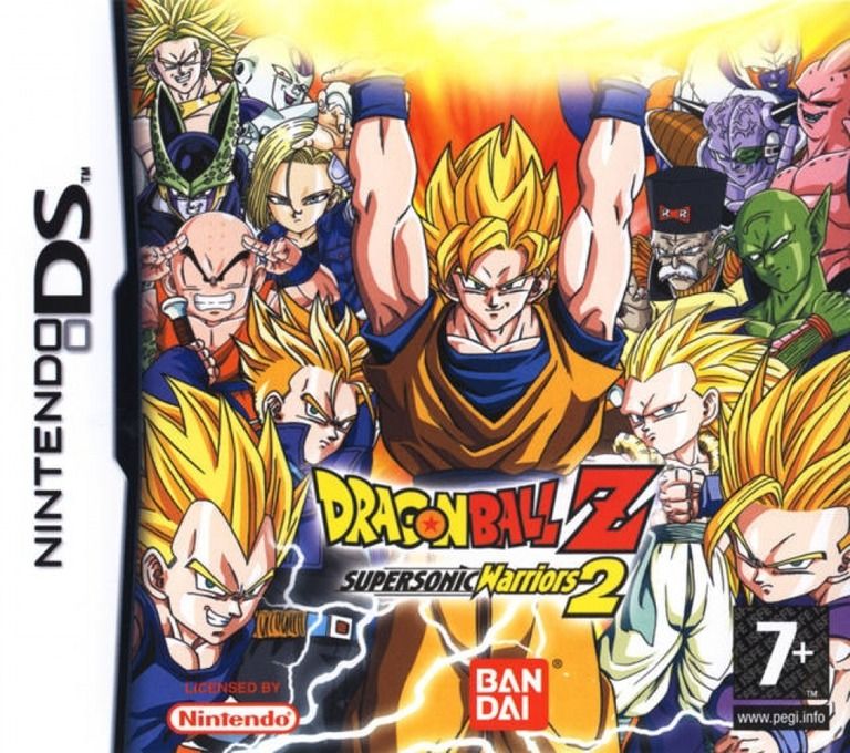 Dragon Ball Z - Supersonic Warriors 2 DS coverHQ2 (ADBP)