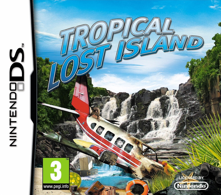 Tropical Lost Island DS coverHQ2 (B2LP)