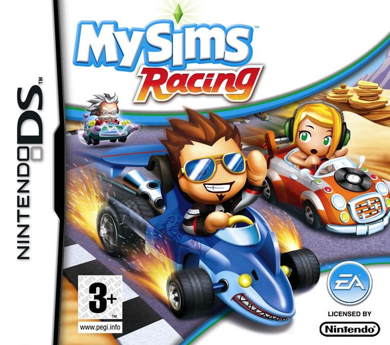 MySims - Racing DS coverHQ2 (CQRP)