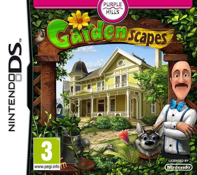 Gardenscapes DS coverHQ2 (TGAP)