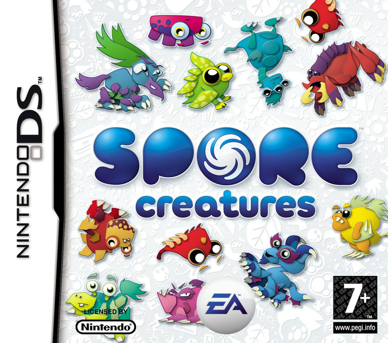 Spore - Creatures DS coverHQ2 (YSPP)