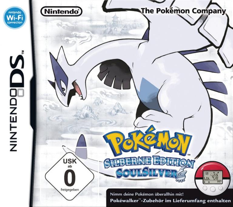 Pokémon - Silberne Edition SoulSilver DS coverHQB (IPGD)