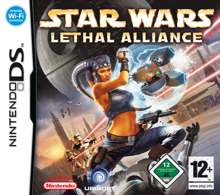 Star Wars - Lethal Alliance DS coverHQB (AWUP)
