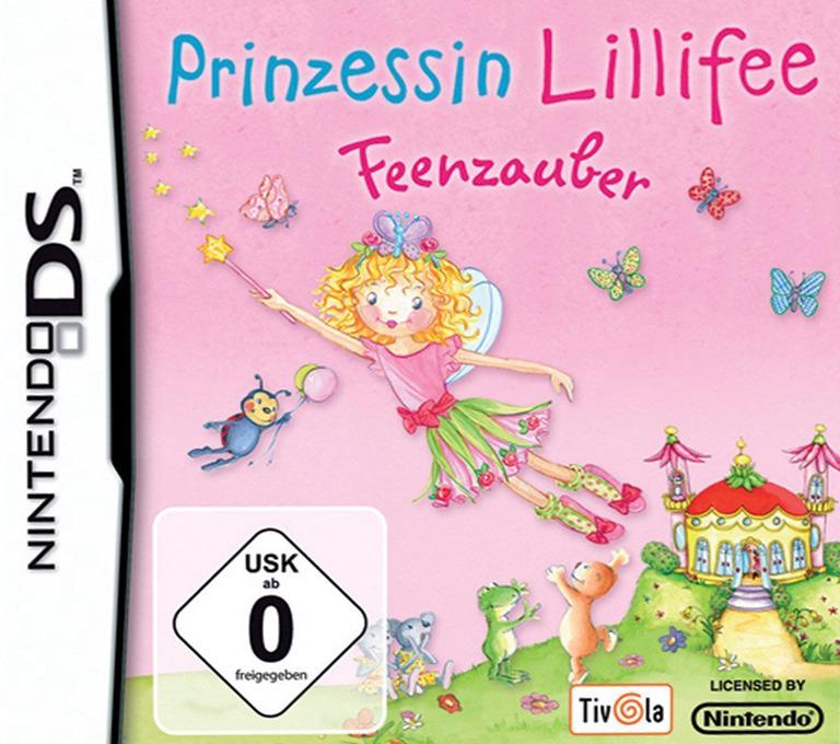 Prinzessin Lillifee - Feenzauber DS coverHQB (AYLD)
