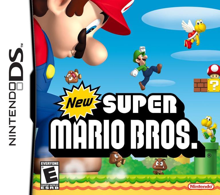 New Super Mario Bros. (Demo) DS coverHQB (A85E)