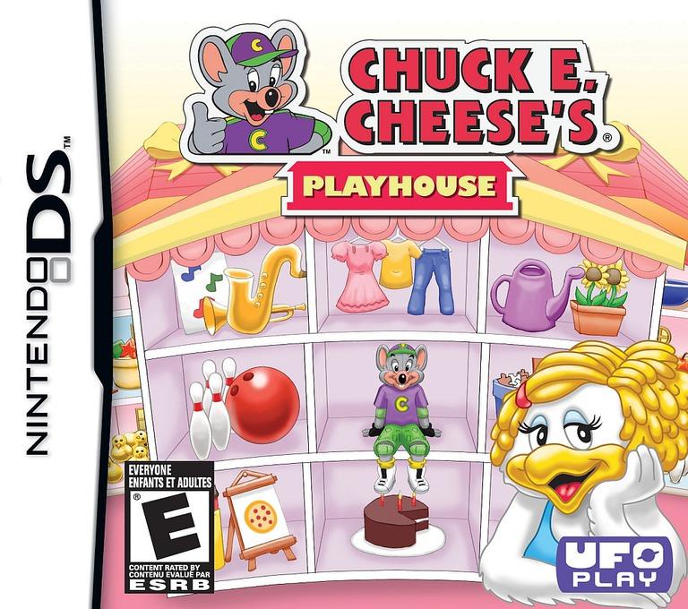 Chuck E. Cheese's Playhouse DS coverHQB (BC7E)