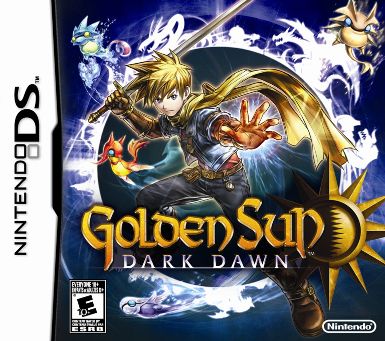 Golden Sun - Dark Dawn DS coverHQB (BO5E)