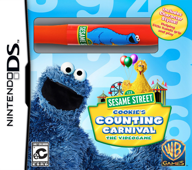 Sesame Street - Cookie's Counting Carnival - The Videogame DS coverHQB (BSRE)