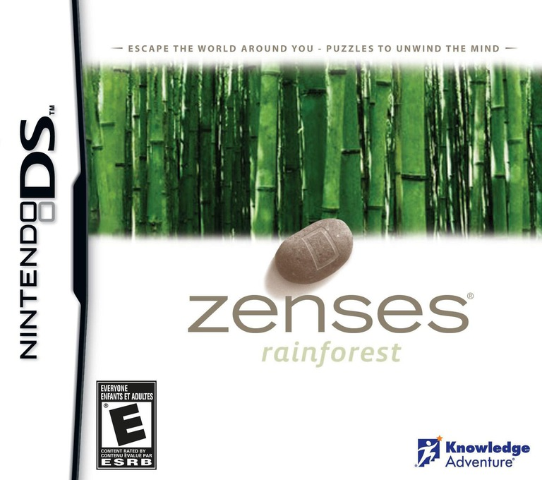 Zenses - Rainforest DS coverHQB (CZRE)