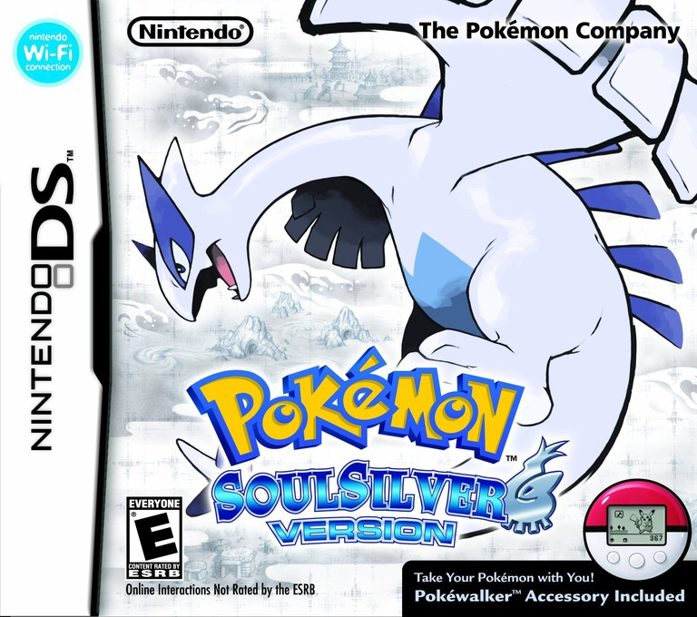 Pokémon - SoulSilver Version DS coverHQB (IPGE)