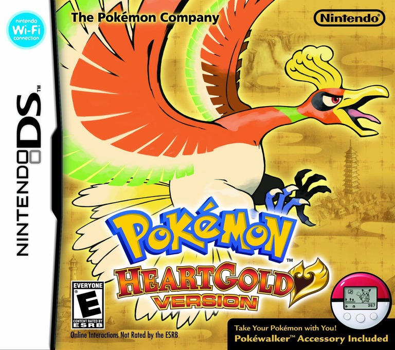 Pokémon - HeartGold Version DS coverHQB (IPKE)