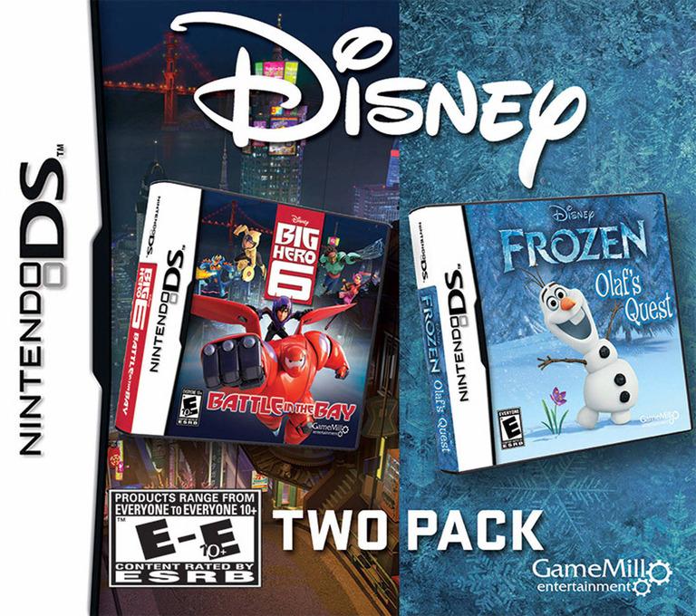 Disney Frozen - Olaf's Quest DS coverHQB (TFBE)