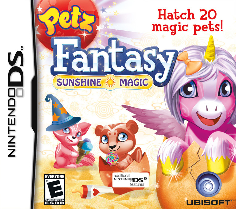 Petz Fantasy - Sunshine Magic DS coverHQB (VFZE)